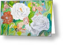 Tropical Rose Greeting Card