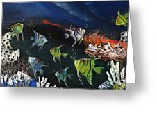 Tropical Seaworld Greeting Card
