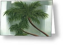 Tropical Splash 1 By Madart Greeting Card