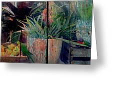 Tropical Still Life Greeting Card