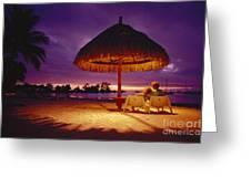 Tropical Tahitian View Greeting Card