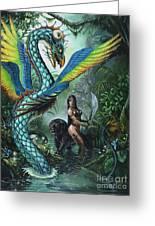 Tropical Temptress Greeting Card