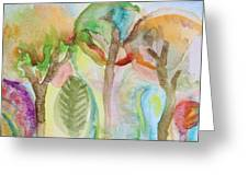 Tropical Trees Greeting Card