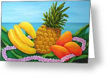 Tropical Trinity Greeting Card
