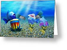 Tropical Vacation Under The Sea Greeting Card