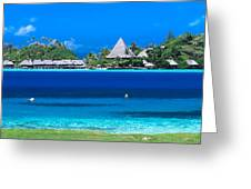 Tropical Views, Greeting Card