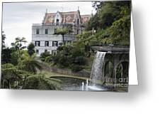Tropican Monte Palace Garden, Madeira, Portugal. Greeting Card