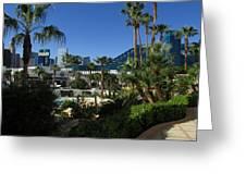 Tropicana And The M G M Grand, Las Vegas Greeting Card