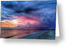 Troubling Skies Greeting Card