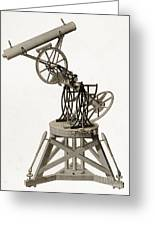 Troughton Equatorial Telescope, 19th Greeting Card