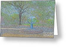 Troup Square  Greeting Card