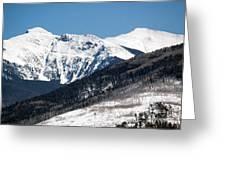 Truchas Peak Greeting Card