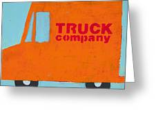 Truck Co Greeting Card