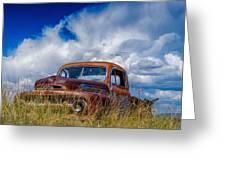 Truck Heaven Greeting Card
