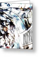 Truck In Dappled Sunlight Greeting Card