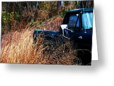 Truck In The Feild Greeting Card
