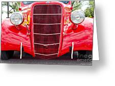 Truck Red Greeting Card