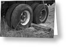 Truck Tires Greeting Card