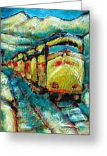Truckee Train 2 Greeting Card