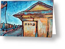 Truckee Train Depot Number 2 Greeting Card