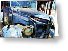 Truckin Greeting Card by Debbi Granruth