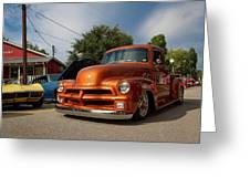 Trucking With Style Greeting Card
