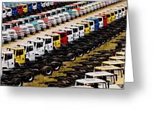 Trucks Greeting Card