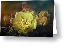 True Golden Beauty  Greeting Card