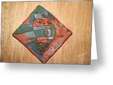 True Shepherd - Tile Greeting Card