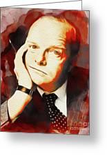 Truman Capote, Literary Legend Greeting Card