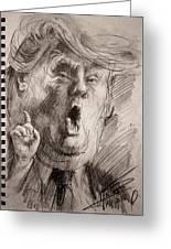 Trump A Dengerous A-hole Greeting Card