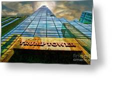 Trump Tower Greeting Card