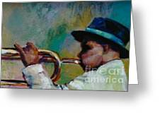 Trumpeter Greeting Card