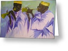 Trumpeters Greeting Card