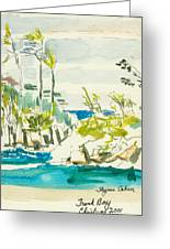 Trunk Bay Greeting Card
