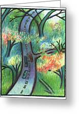 Trunk Road Greeting Card