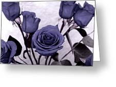 Trunk Roses Greeting Card