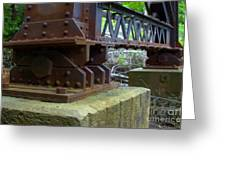 Trussed Trestle Greeting Card