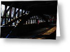 Trusses And Light  Greeting Card