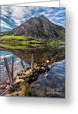 Tryfan Reflections Greeting Card