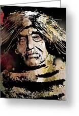 Tsawatenok Man Greeting Card