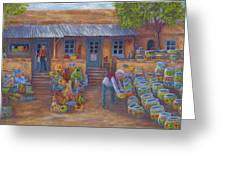 Tubac Pottery Shop Greeting Card