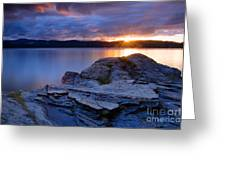 Tubbs Hill Sunset Greeting Card