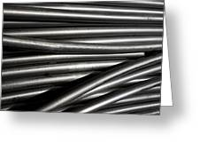 Tubular Abstract Art Number 2 Greeting Card