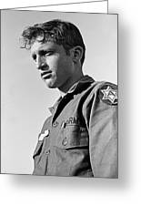 Tucson Arizona Army Reservist Taking Part In Summer Camp Exercise Death Valley  Ca 1968 Greeting Card