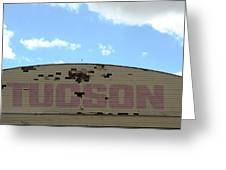 Tucson Hangar Greeting Card