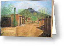 Tucson Ranch Greeting Card