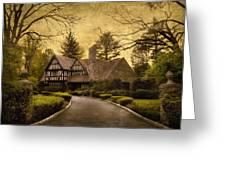 Tudor Estate Greeting Card