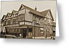 Tudor House Southampton Greeting Card