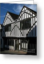 Tudor Timber Greeting Card